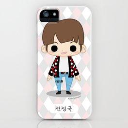 Chibi JungKook (Fire) iPhone Case