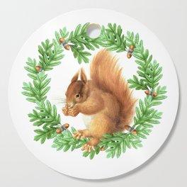 Squirrel Cutting Board