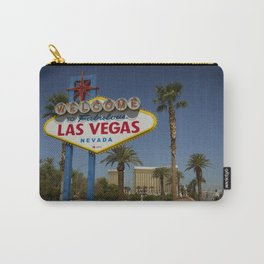 Welcome To Vegas Sign Series VI Carry-All Pouch