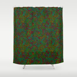 Be Wild Shower Curtain