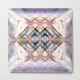 Multi-Colored Abstract Symmetry (Day) Metal Print