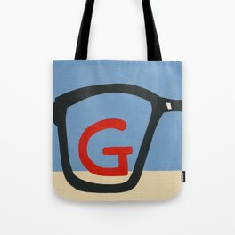 G is for Glasses Tote Bag