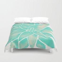 Aloe Vera – Mint Palette Duvet Cover