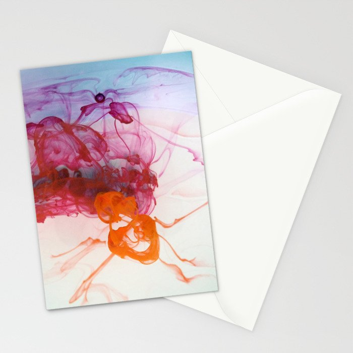 Liquid Flow Stationery Cards