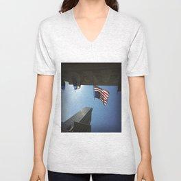 Empire State Unisex V-Neck