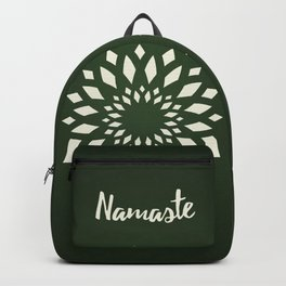 Namaste Mandala Flower Power Backpack