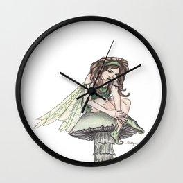 Woodland Fae Wall Clock