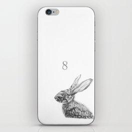 Rabbit 8 iPhone Skin