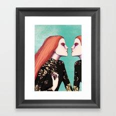 softly sophie Framed Art Print