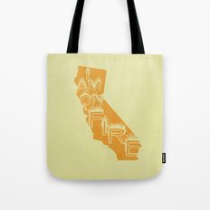 i am on fire! Tote Bag
