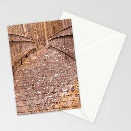 Acrylic Sepia Bridge Stationery Cards