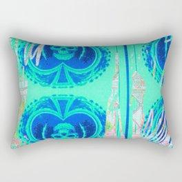 Tracy Porter / Roxy Attic: Blue Spades Rectangular Pillow
