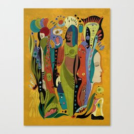 Solstice Queens Canvas Print
