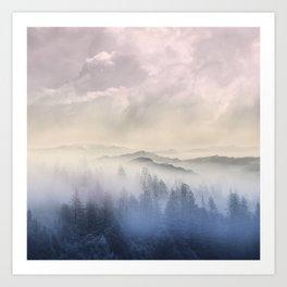 Pastel vibes 56 Art Print