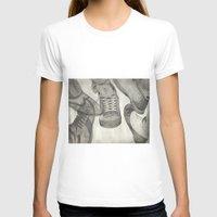 shoes T-shirts featuring shoes by Caterina Zamai