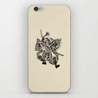 samurai iPhone & iPod Skins featuring Samurai by Scalifornian