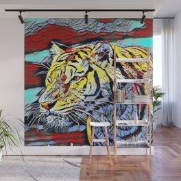 Color Kick - Tiger Wall Mural