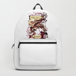 Dragon Triplets - FIRE AND BLOOD Backpack