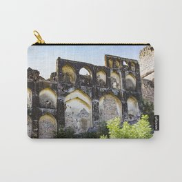 Golconda Fort Ruins with Traditional Indian Architecture and Design in Hyderabad, India Carry-All Pouch