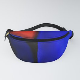Abstraction in Lapis and Red Fanny Pack