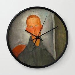 Amedeo Modigliani - Petit garçon roux Wall Clock