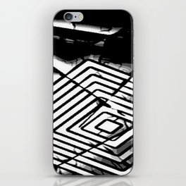 Borderlines iPhone Skin