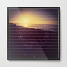Sunrise at cabos Metal Print
