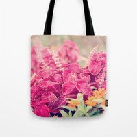 Garden Sunset  Tote Bag