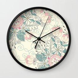 Blooming Soul 2 Wall Clock