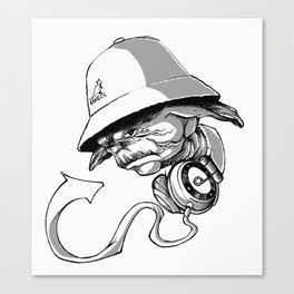 Life, Hip-Hop is! Canvas Print
