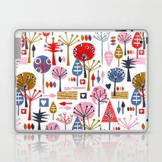 Retro Trees Laptop & iPad Skin