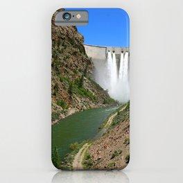 Morrow Point Dam iPhone Case