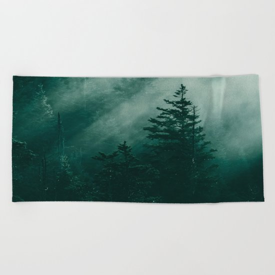 The Beckoning of the Unknown Beach Towel