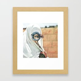 Myope Framed Art Print