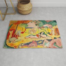 Henri Matisse - Le bonheur de Vivre (The Joy of Life) portrait painting Rug