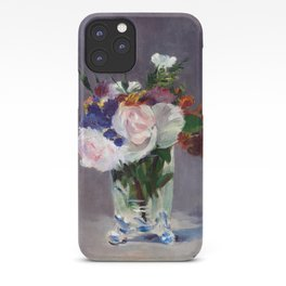 Edouard Manet Flowers in a Crystal Vase iPhone Case
