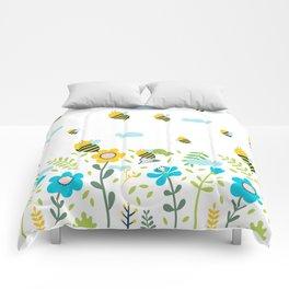 Bee Flaying Comforters