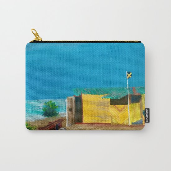 Jamaica. Jamaican Blues Carry-All Pouch