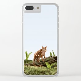 Spotted-tail Quoll (Dasyurus maculatus) Clear iPhone Case