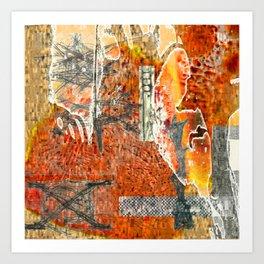 Dream Places 1 Art Print