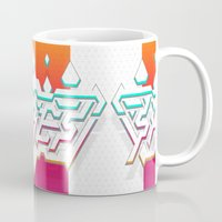 spires Mugs featuring Spires : Crystyl Cystlys Spectrym  by Spires
