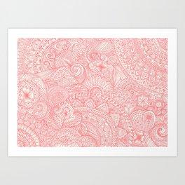 Pinktangle Art Print