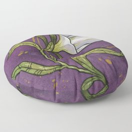 Blossoming Petunia  Floor Pillow