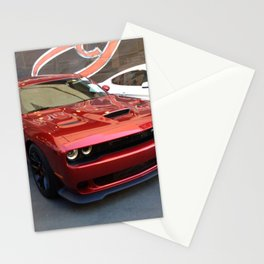 Octane Candy Aplle Red Challenger Hellcat color photograph / photography / poster Stationery Cards