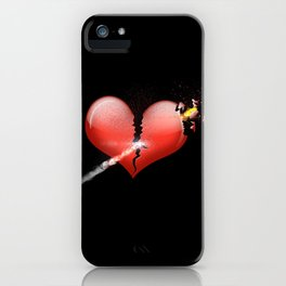 Heartbomb iPhone Case