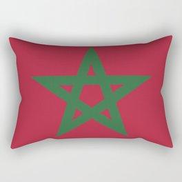 Morocco flag emblem Rectangular Pillow