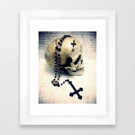 Beast Rosary Framed Art Print