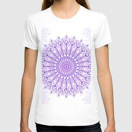 Violet mandala T-shirt