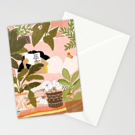 How Many Plants Is Enough Plants? Stationery Cards