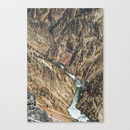 Yellowstone National Park, Wyoming Canvas Print